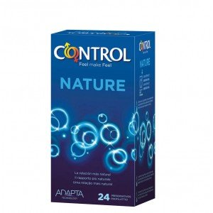 Preservativo adapta nature confezione 24 pezzi - Control