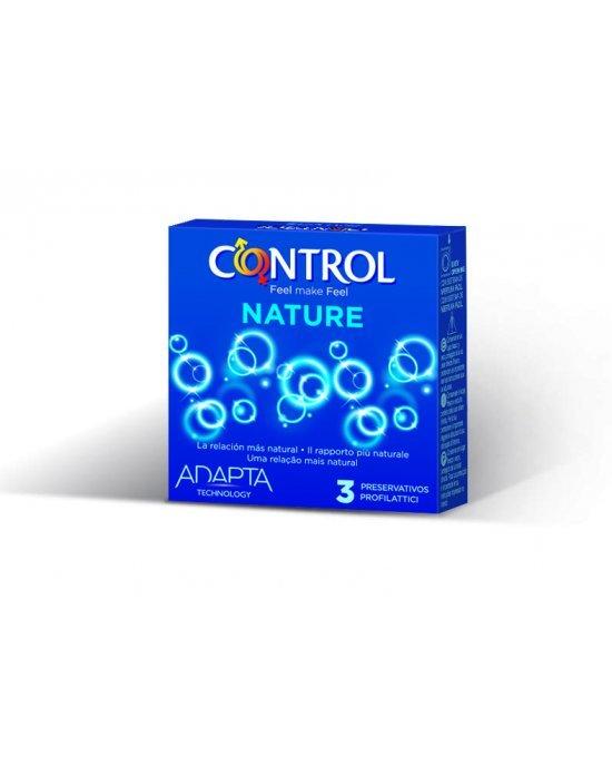 Preservativo adapta nature confezione 3 pezzi - Control
