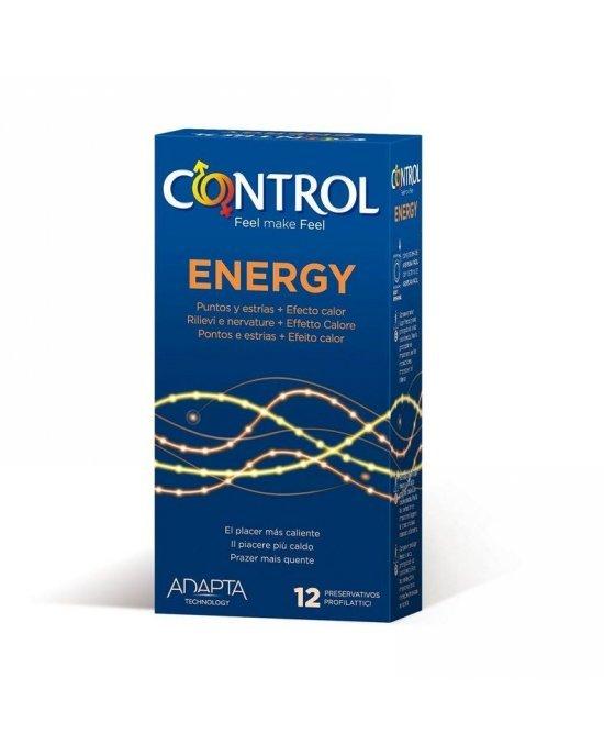 Preservativo energy confezione 12 pezzi - Control