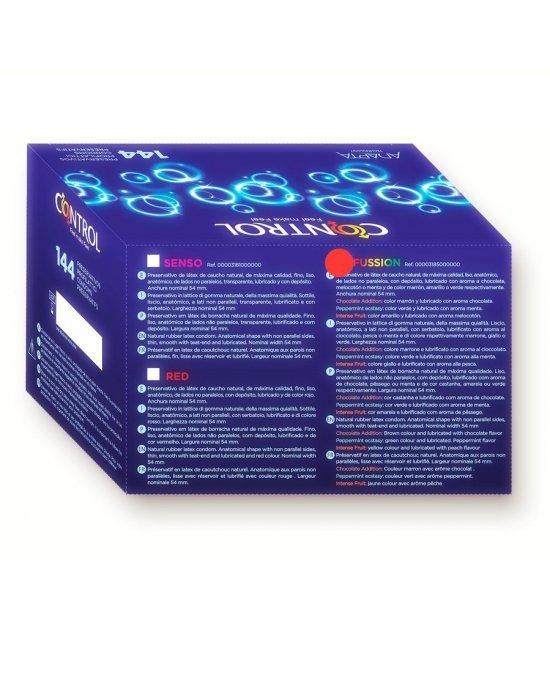 Preservativo fussion confezione 144 pezzi - Control