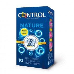 Preservativo nature easy way confezione 10 pezzi - Control