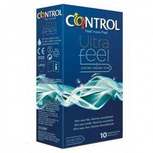 Preservativo ultra feel confezione 10 pezzi - Control