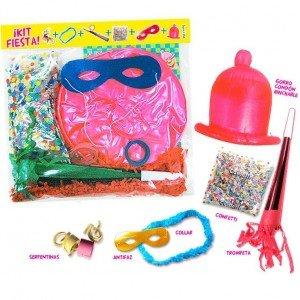 Low Cost Despedidas - Kit per feste con Cappello Preservativo