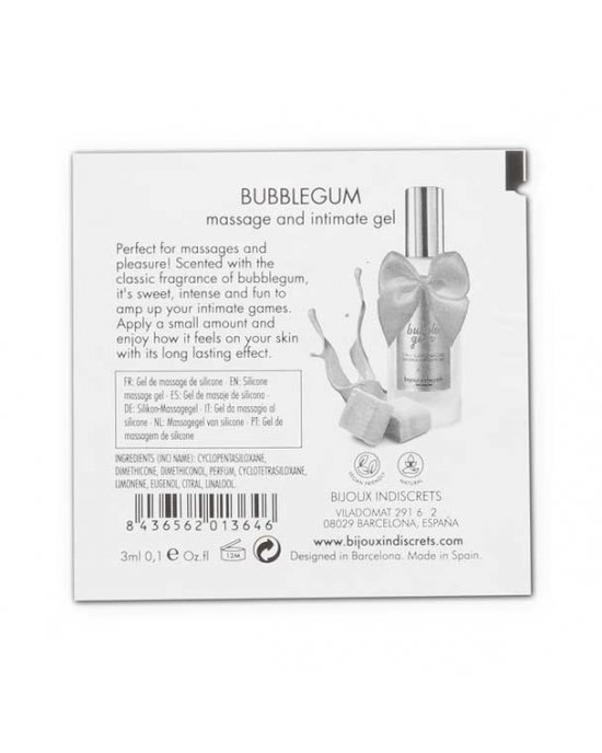 Gel Bubble Gum 2 in 1 - Bijoux Indiscrets
