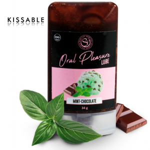 Lubrificante commestibile cioccolato e menta- Secretplay