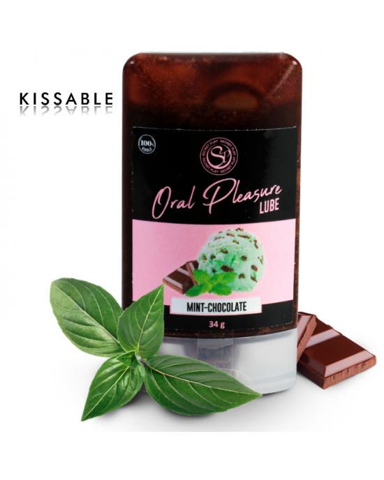 Lubrificante commestibile cioccolato e menta- Secretplay