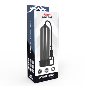 Pompa erezione RX7 nera - Pump Addicted