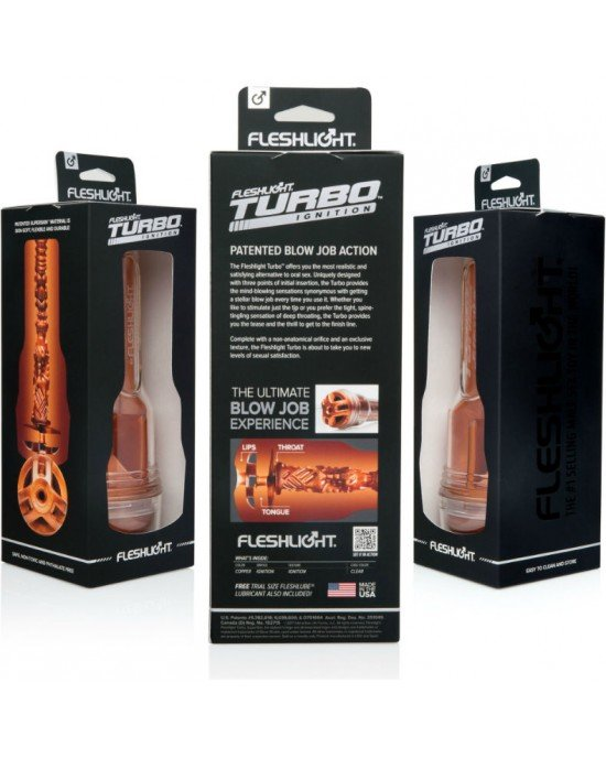 Masturbatore Turbo Copper - Fleshlight