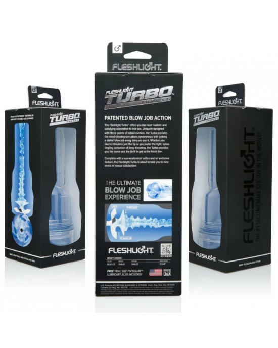 Masturbatore Turbo Blue Ice - Fleshlight
