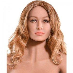Bambola Realistica Pipedream Bianca 163cm