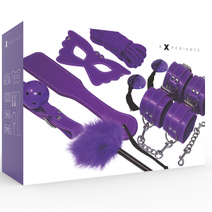 BDSM Fetish Kit Viola 8pz