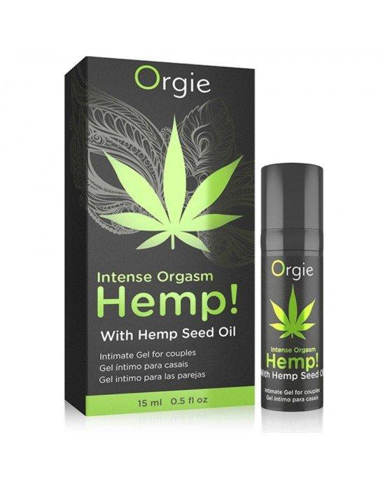 Gel stimolante con olio di semi di canapa 15ML - Sexy Shop