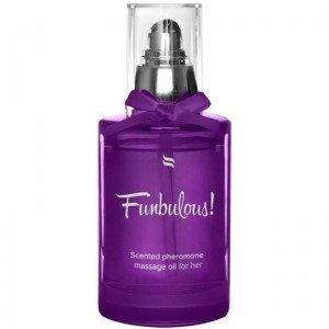 Olio da massaggio con feromoni Funbulous - Obsessive