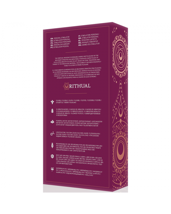 Vibratore Punto G Kirya Rosa - Ritual - Sexy Shop