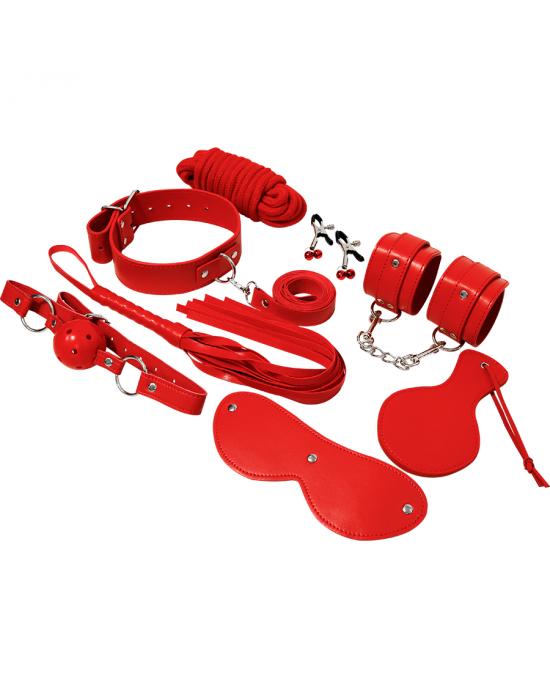 Kit Bondage Fetish Rosso - Experience - Sexy Shop