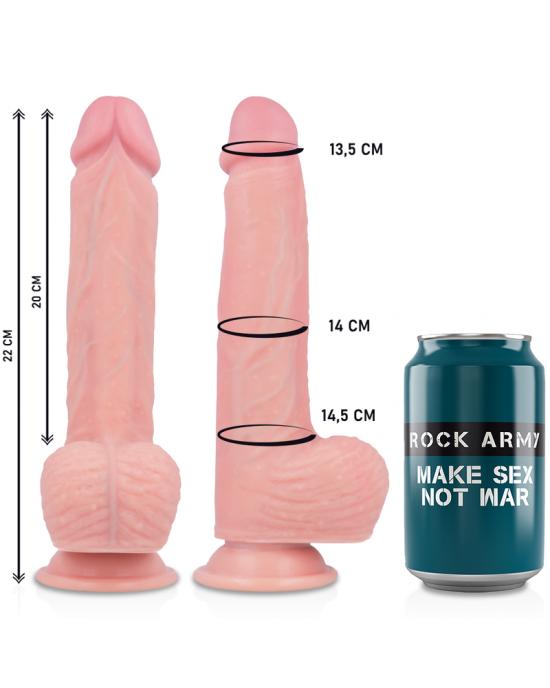 Liquid silicone Apachevibratore con controllo remoto 22CM - Sexy Shop