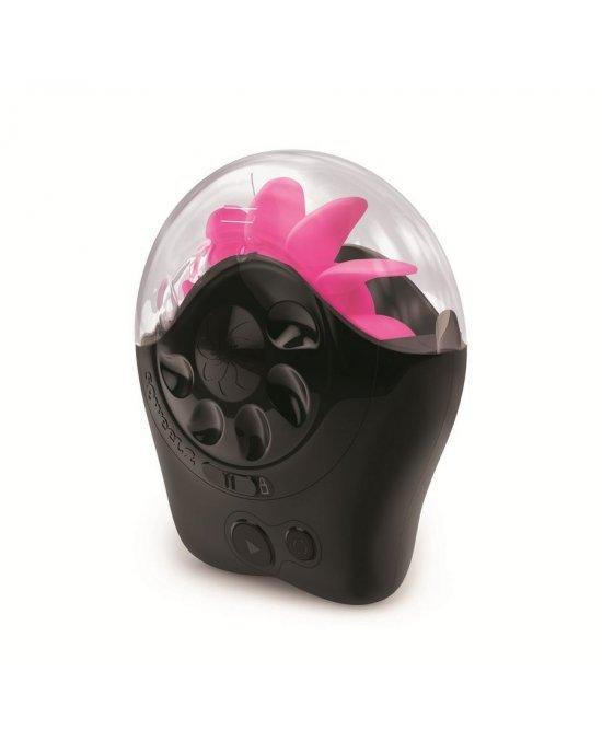 Simulatore sesso orale nero/rosa - Sqweel