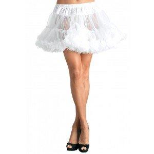 Sottogonna tulle bianca T/Plus - Leg Avenue