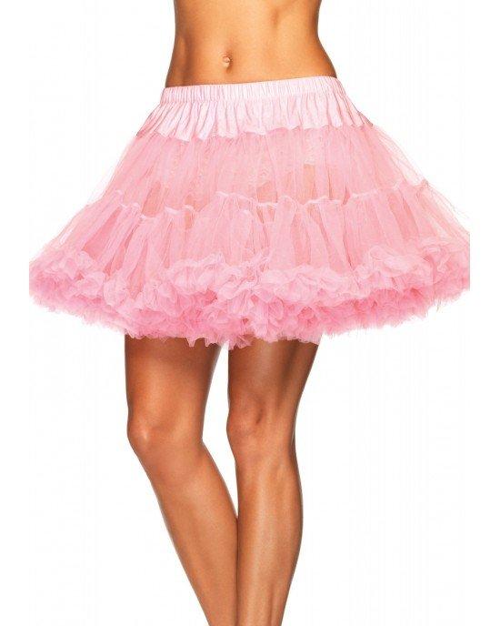 Sottogonna tulle rosa T/Plus - Leg Avenue