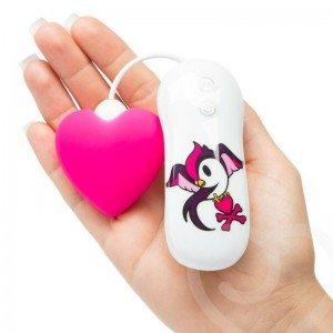 Stimolatore clitoride cuore fucsia - Tokidoki