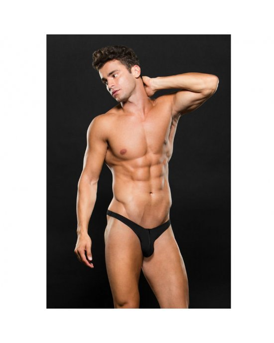 Tanga nero E062 L/XL - Envy