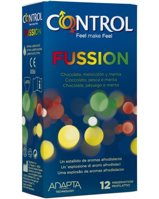 Preservativi Sex Senses Fussion 12 pezzi - Control