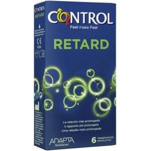 Preservativo adapta retard confezione 6 pezzi - Control