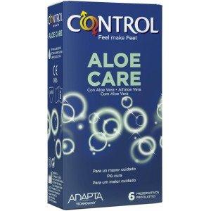 Preservativo aloe care confezione 6 pezzi - Control
