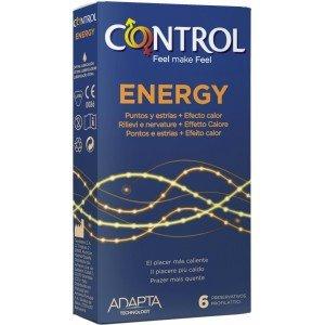 Preservativo energy confezione 6 pezzi - Control
