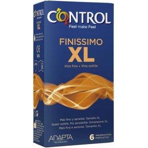 Preservativo finissimo XL confezione 6 pezzi - Control
