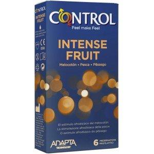 Preservativo intense fruit confezione 6 pezzi - Control
