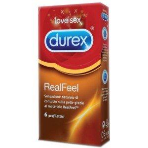 Preservativo real feel confezione 6 pezzi - Durex