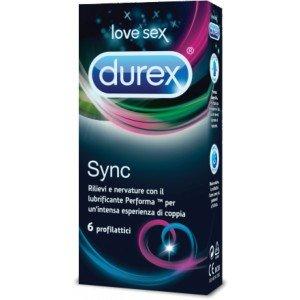 Preservativo sync confezione 6 pezzi - Durex