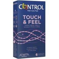 Preservativo touch & feel confezione 6 pezzi - Control