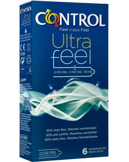 Preservativo ultra feel confezione 6 pezzi - Control
