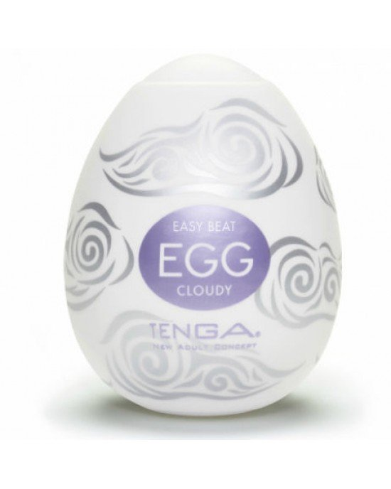 Uovo masturbatore cloudy - Tenga