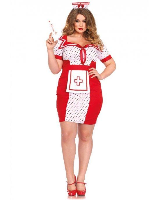 """Vestito da infermiera sexy """"Bedside Betty"""" XL-XXL"""