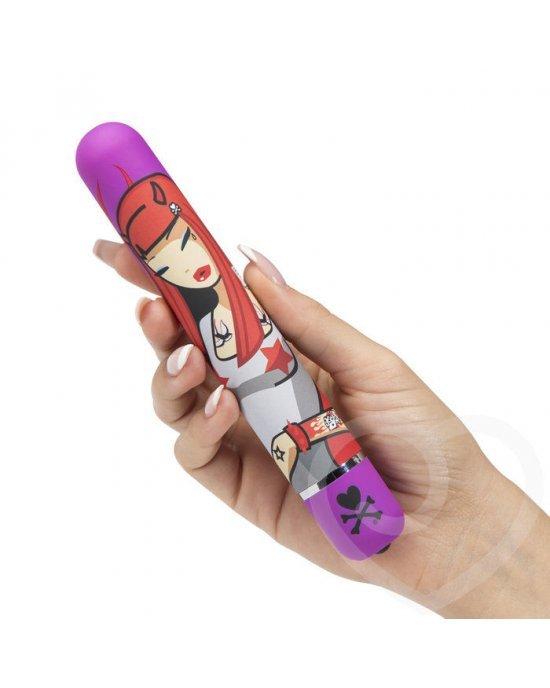Vibratore clitoride Devil Woman fucsia - Tokidoki