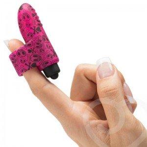 Vibratore dito silicone fucsia - Tokidoki